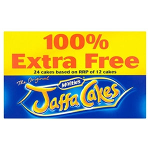 McVitie's 292g 100% Extra Free Jaffa Cakes