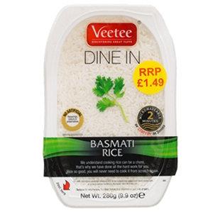 Veetee 280g Basmati Rice