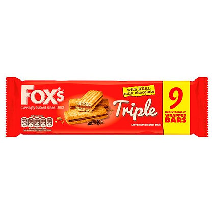 Fox's 9pk Triple
