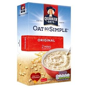Quaker 8pk Oats So Simple Original