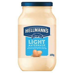Hellman's 600g Light Mayonnaise