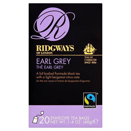 Ridgways 20k Earl Grey Tea Bags