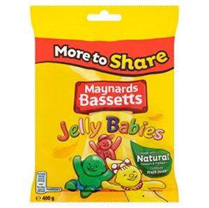 Maynards Basset 400g Jelly Babies