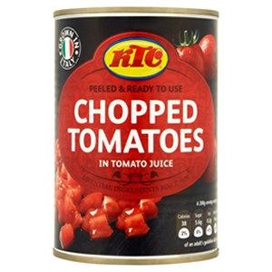 KTC 400g Chopped Tomatoes