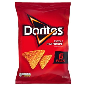 Doritos 6pk Chilli Heatwave