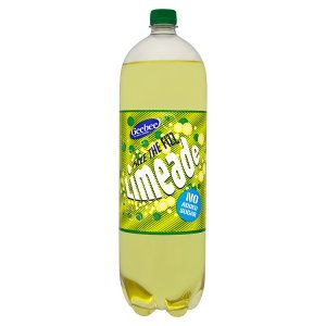 Geebee 2ltr Limeade No Added Sugar
