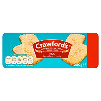 Crawford's 200g Nice Biscuits
