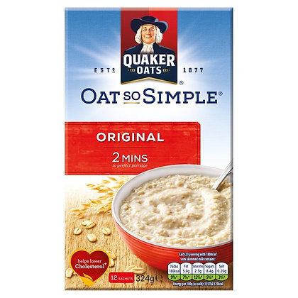 Quaker 8pk Oats So Simple Original
