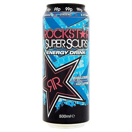 Rockstar 500ml Bubbleburst Energy