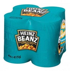 Heinz 4pk Baked Beans
