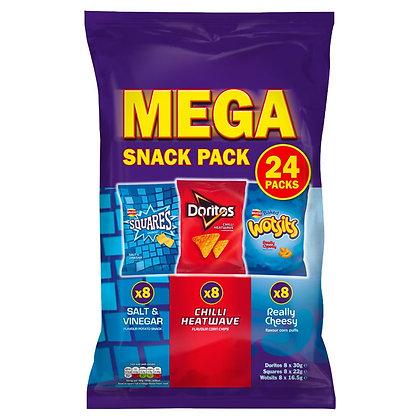 Walkers 24pk Mega Snack Pack