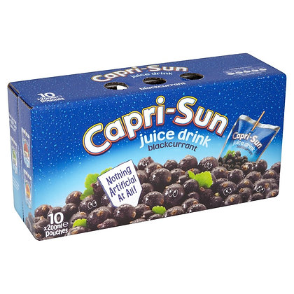 Capri Sun 10k Blackcurrant Juice