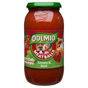 Dolmio 500g Tomato & Basil Meatball Sauce