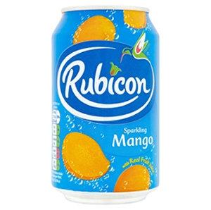Rubicon 300ml Mango Can