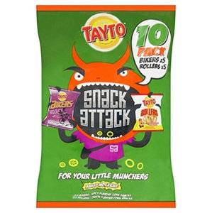 Tayto 10pk Snack Attack