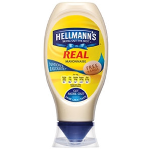 Hellmann's 750ml Squeezy Real Mayo