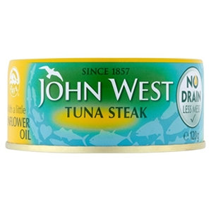 John West 120g in Oil No Drain Tin