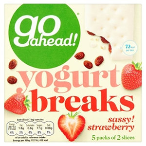 Go ahead! 5pk Strawberry Yogurt Breaks