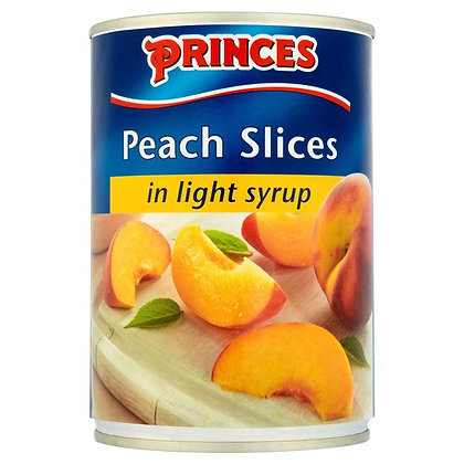 Princes 410g in Syrup Peaches