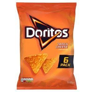 Doritos 6 x 30 Tangy Cheese