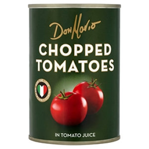 Don Mario 400g Chopped Tomatoes