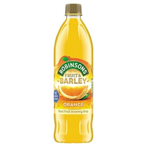 Robinsons 1ltr Orange Fruit & Barley