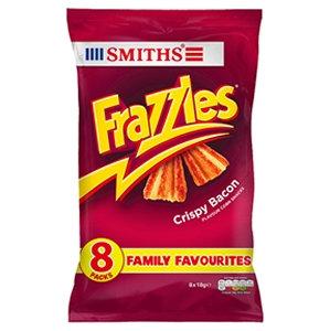 Smiths 8pk Bacon Frazzles