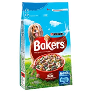 Bakers 2.7kg Complete Beef & Veg