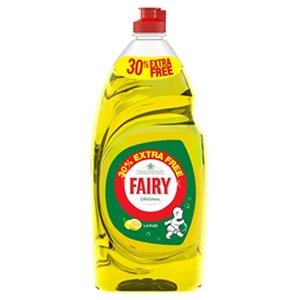 Fairy 30% Extra Free 780 Lemon Wash Up Liquid