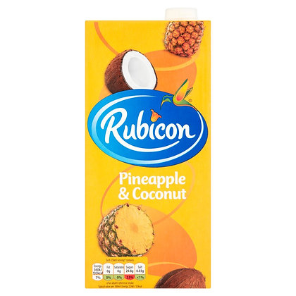 Rubicon 1ltr Pineapple & Coconut