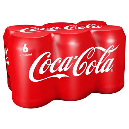 Coca Cola 6pk Original