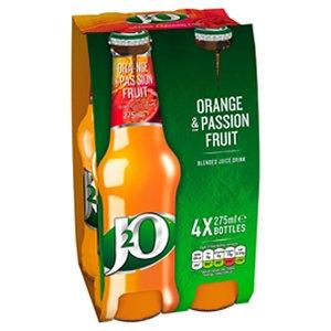 J2O 4 x 27 Orange & Passionfruit