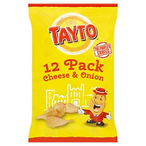 Tayto 12k Cheese & Onion