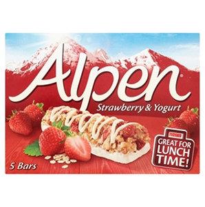 Alpen 5pk Strawberry & Yoghurt Bars