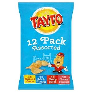 Tayto 12pk Assorted Crisps