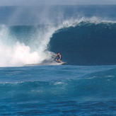 """""""A familiar verb used for a crashing wave in hollow, large surf is that it detonates."""""""