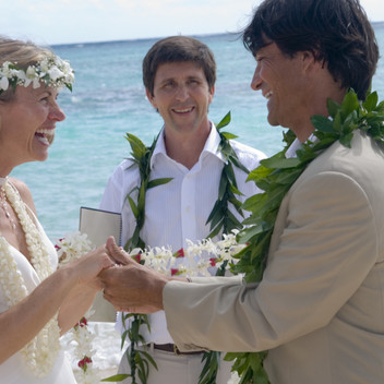 """""""One of our most treasured marriage vows was """"I will meet what arises with playfulness, wonder, and ease."""""""