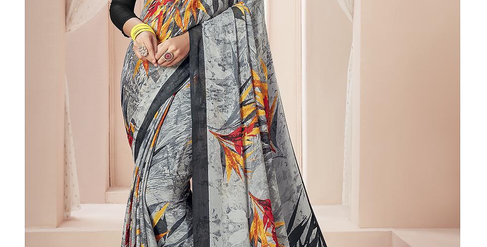 Beautiful Printed Georgette Sarees