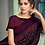 Thumbnail: Uniqe Style deep Maroon Color Art Silk Saree with Fabric Lycra