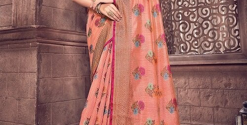 Exclusive Party & Designer Wear Sarees with Cotton Handloom
