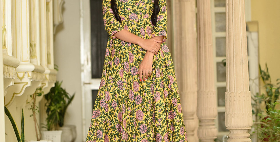 PartyWear Designer Golden Yellow Pure Maslin Plazzo Suit