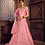 Thumbnail: Pink Color Zikkra Lehenga Choli