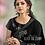 Thumbnail: Uniqe Style Black Color Art Silk Saree with Fabric Lycra