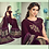 Thumbnail: Uniqe Style Wine Color Art Silk Saree with Fabric Lycra