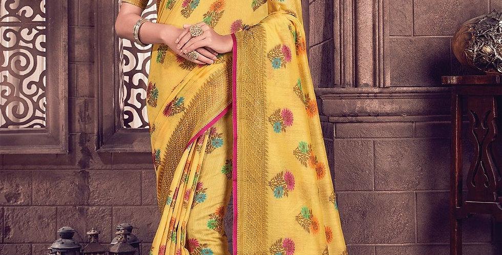 Exclusive Party & Designer Wear Sarees with Cotton Handloom