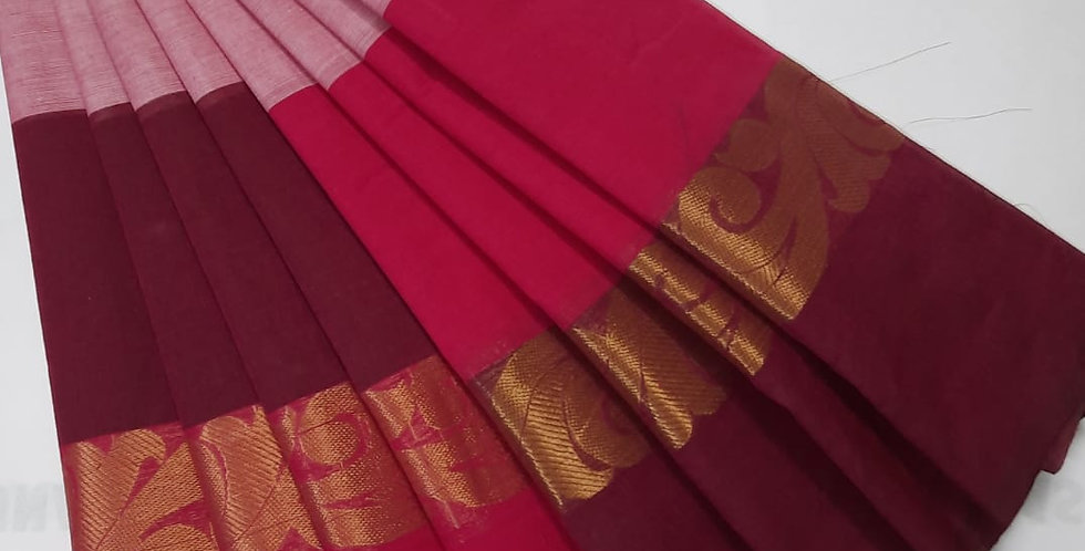 Kanjivaram Silk Sarees with 