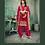 Thumbnail: New stylish Pink heavy Patiyala Suit Collection with Gota Patti work