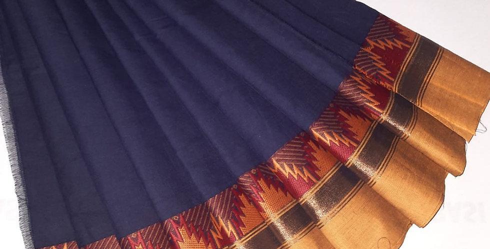 Kanjivaram Silk Sarees with  Dual shade colour