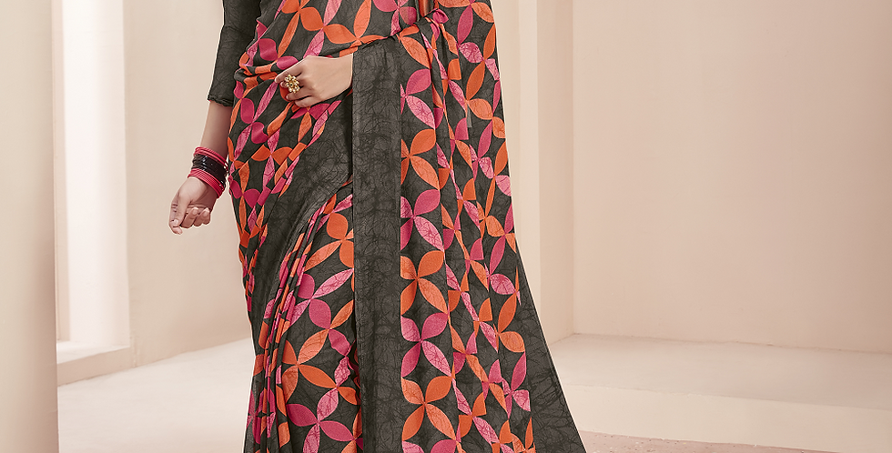 Beautiful Printed Georgette Sarees