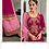 Thumbnail: Phillauri Patiyala Blooming Georgette Salwar Kameez Pink Color